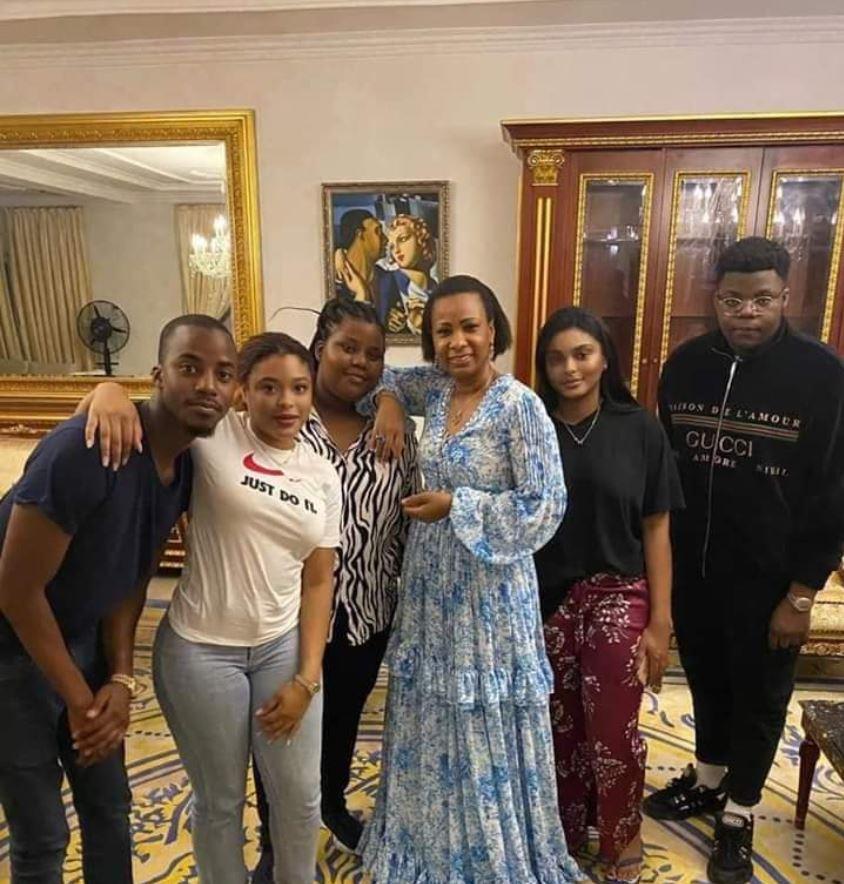 Marie-Olive Lembe Kabila chez la famille Kamerhe
