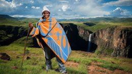 les basotho au Lesotho