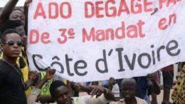 Manifestations en Côte d'Ivoire