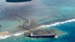 Maurice - Déversement massif d'hydrocarbures d'un pétrolier