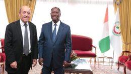 Afrique de l'Ouest - la Diplomatie de la France