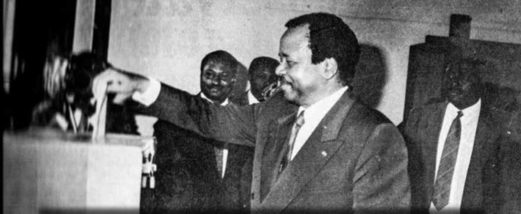S.E. M. Paul Biya - 11 mars 1992 - Élection présidentielle