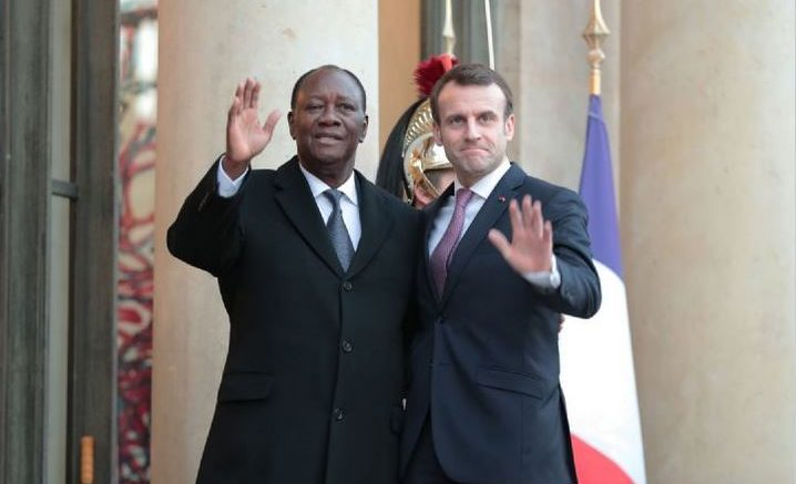 Macron Ouattara - 3ème mandat