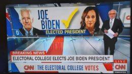 Le corps électoral confirme la victoire de Joe Biden