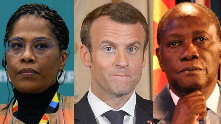 Nathalie Yamb & Alassane Ouattara