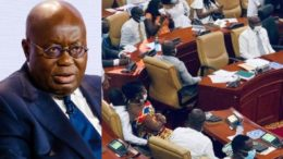 Chaos au Parlement du Ghana