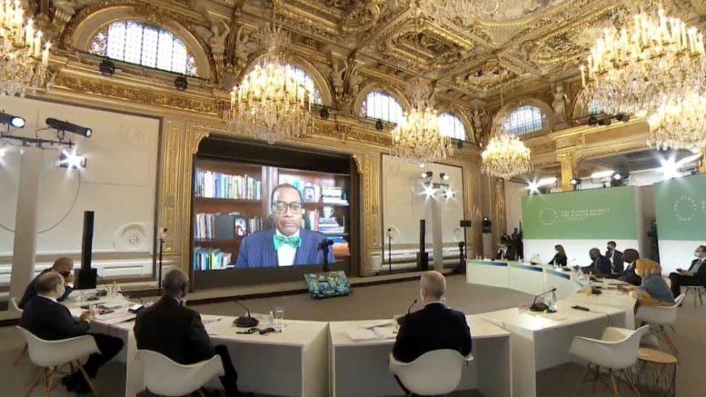 Discours du Président de la BAD au «One Planet Summit»