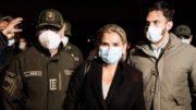 L'ex-présidente bolivienne, Áñez, mise aux arrêts pour «terrorisme»